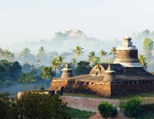 Photo of Mrauk-oo