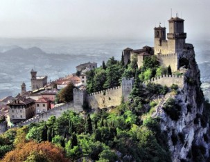 Photo of San Marino (enclaved microstate surrounded by Italy)