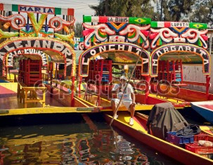 Photo of Xochimilco