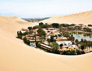 Photo of Huacachina