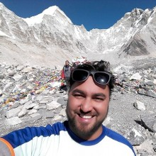 Private trek guide in nepal- Santosh gauli
